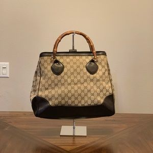 Gucci GG Supreme Handbag Satchel